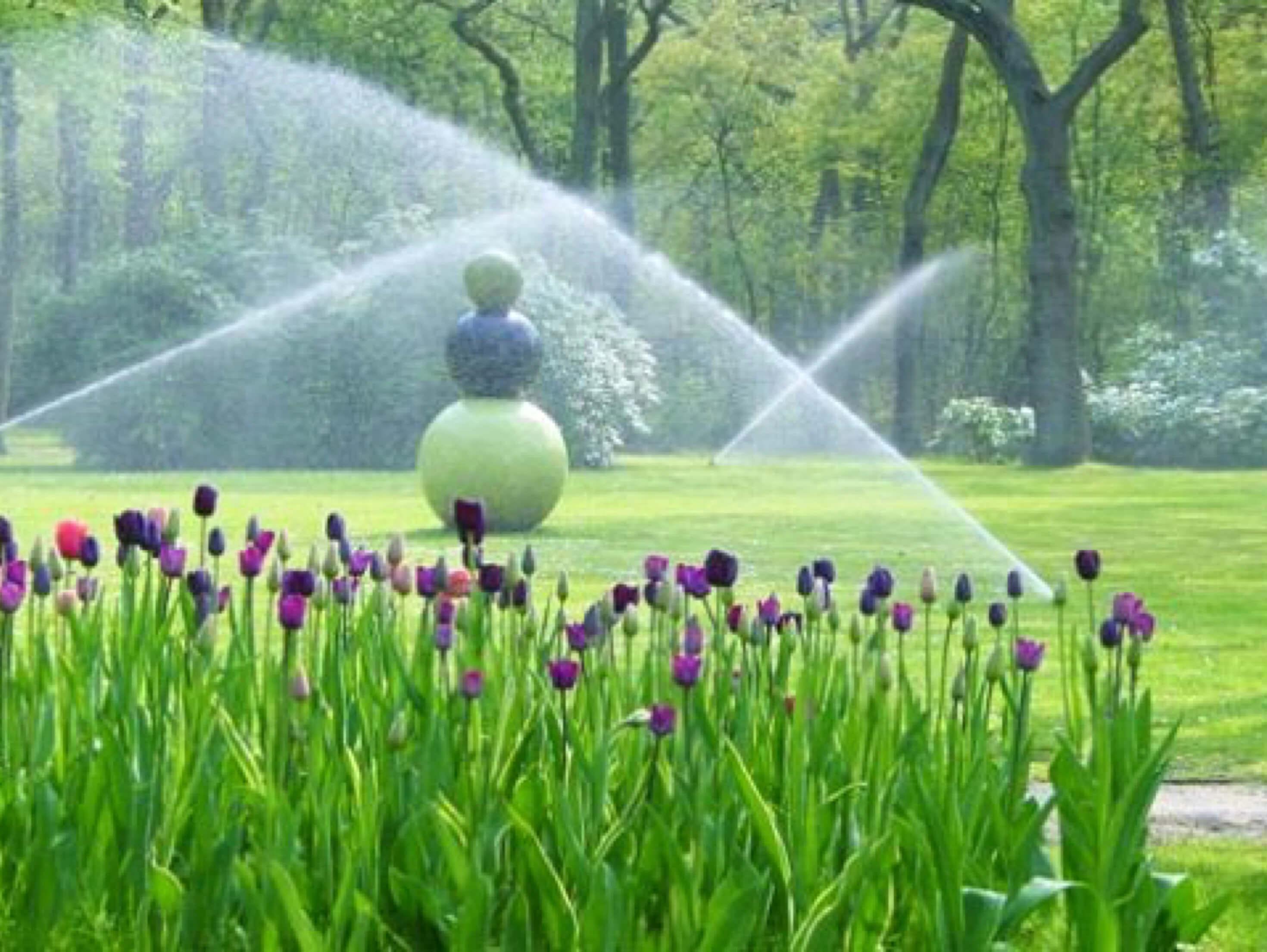 Sproei Installatie Tuin : Landelijke tuin te schaijk